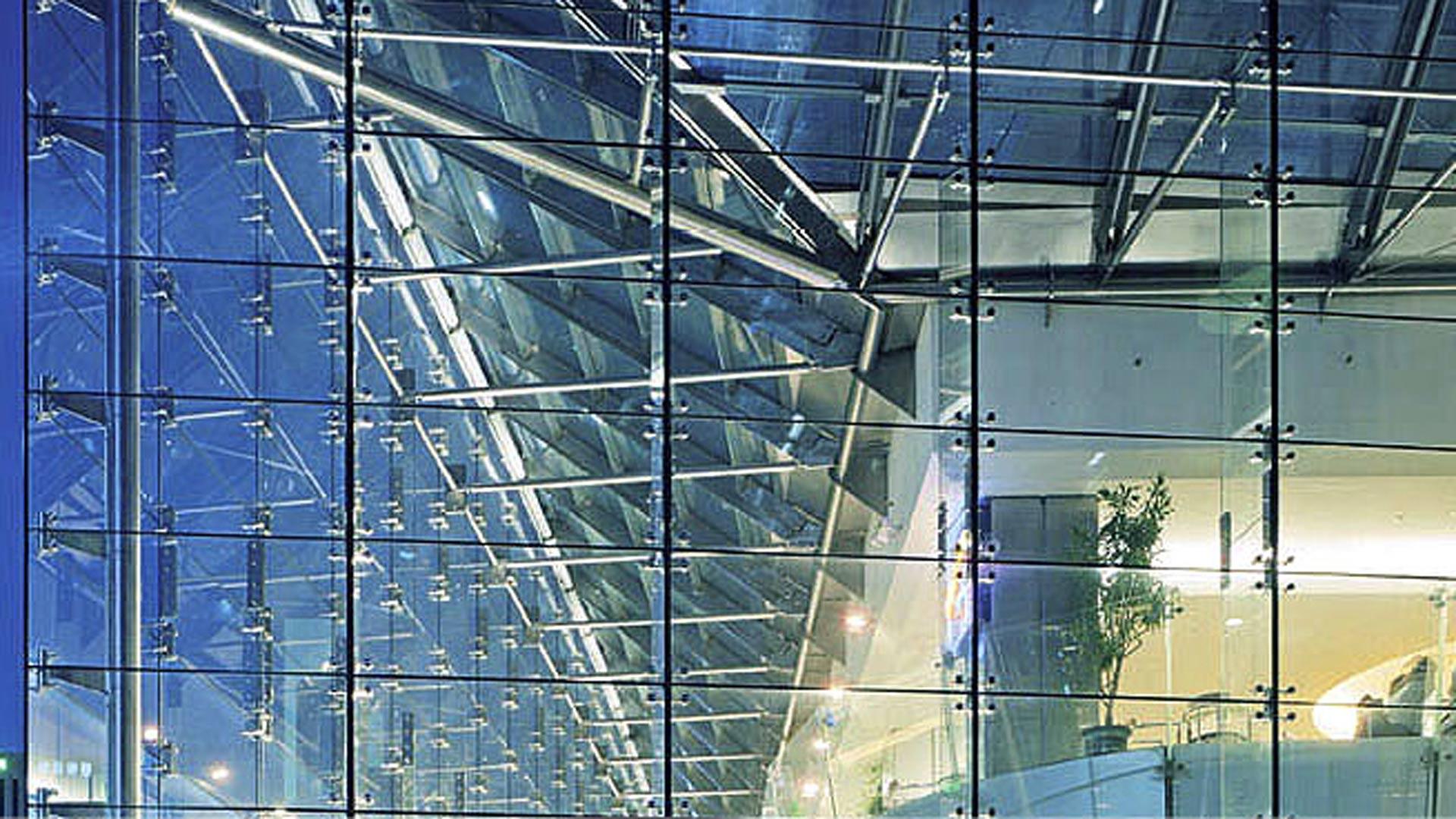 structural glazing, structural glass, structural glass wall, laminated glass windows