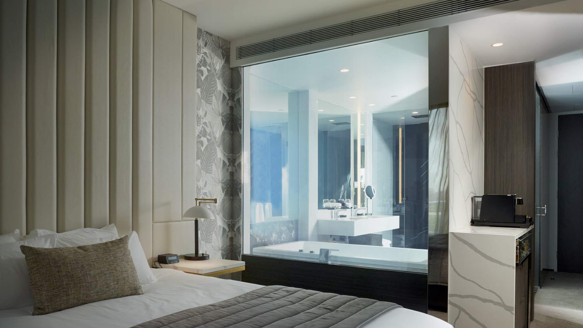 switchable glass, switchable smart glass, switchable privacy glass, glass that turns opaque