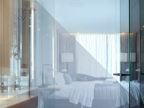 clear to opaque glass, smart glass australia, switchable glass