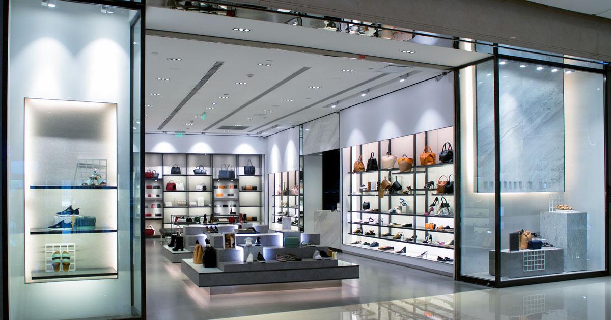 Retail Storefront Renovation, Polytron, retail glass installation