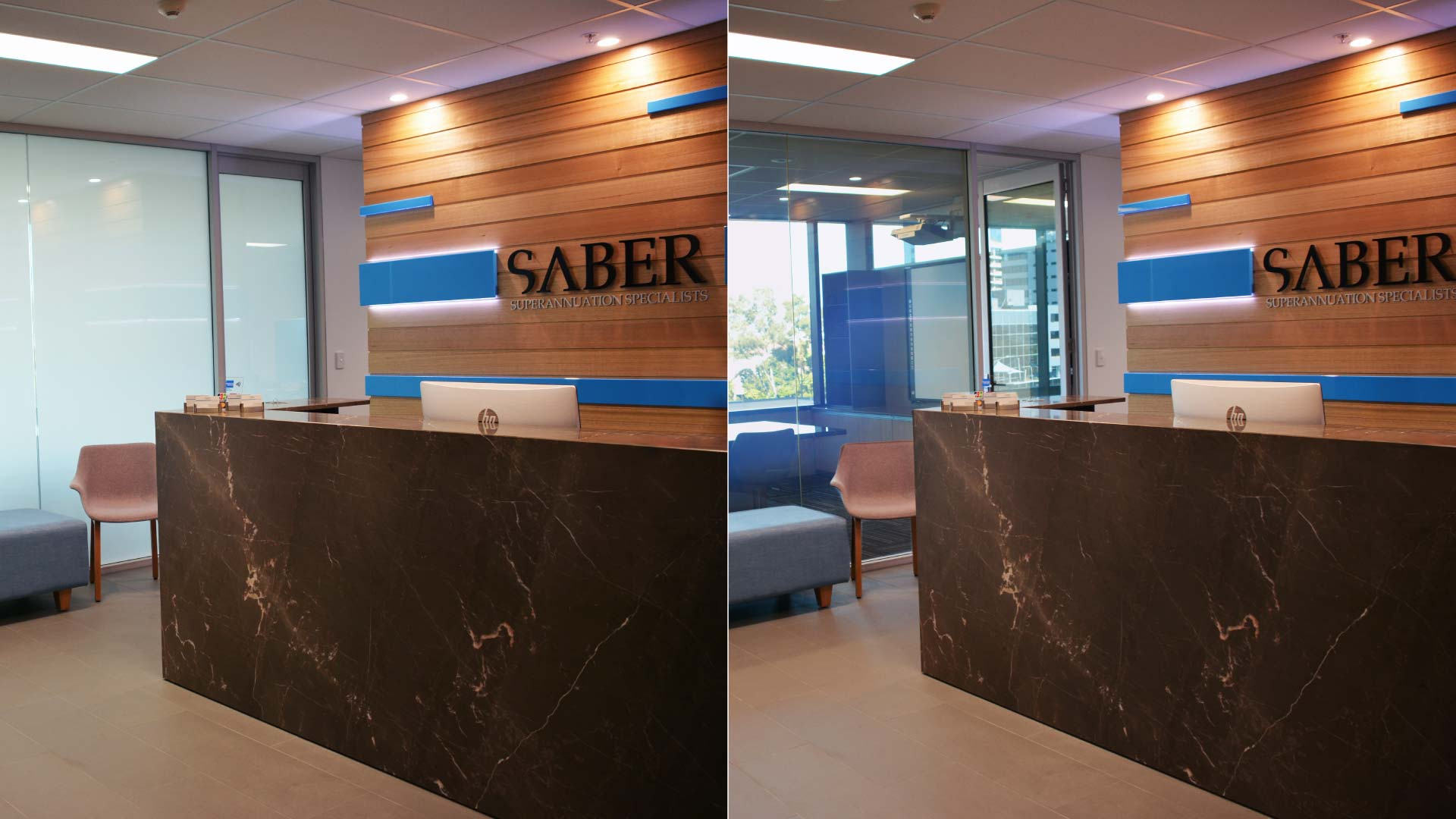 smart glass office, switchable glass office, switchable glass, smart glass, automated glass