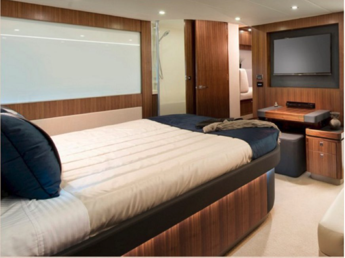 switchable glass yacht